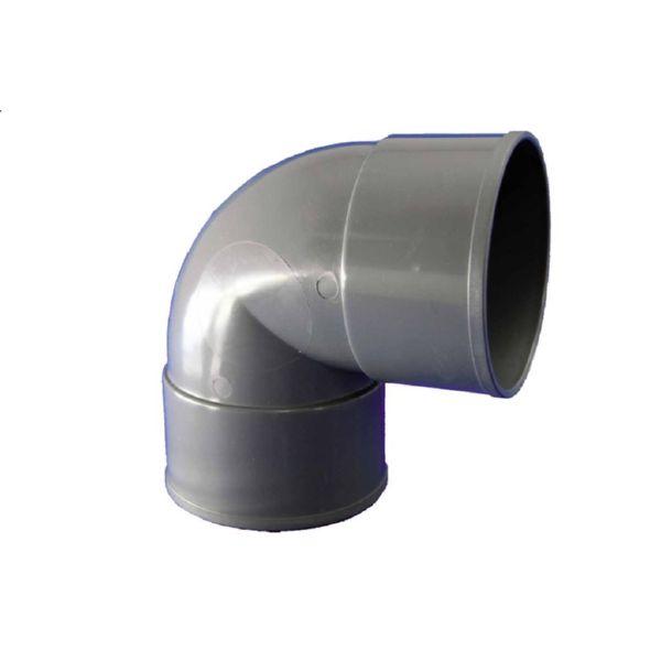 CODO PVC EVACUACION H-H 87º Ø 50