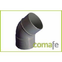 CODO PVC EVACUACION M-H 45º Ø 125