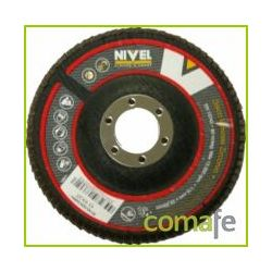 DISCO LAMINAS ZIRCONIO  115MM GRANO 60 NIVEL
