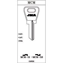 LLAVE EN BRUTO J.M.A. MCM-5D
